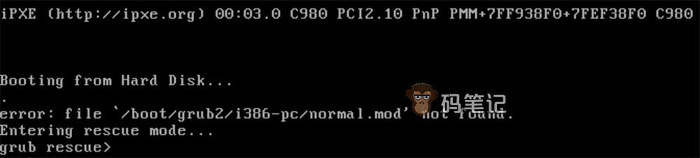 执行rm -rf /*命令后无法进入系统