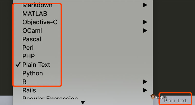 Sublime Text切换变成语言