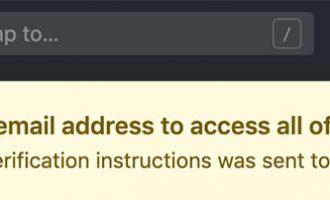 GitHub频繁邮箱验证的解决方法