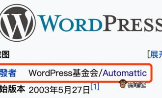 WordPress是哪个国家开发的?