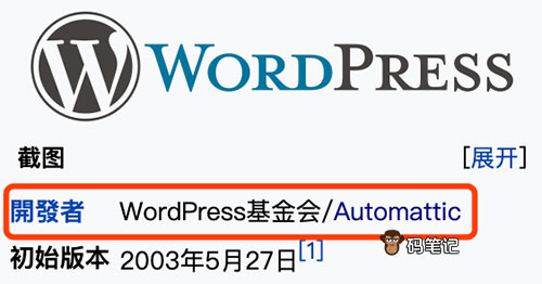 WordPress开发者