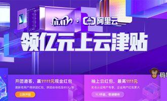 阿里云双十一优惠活动省钱攻略(服务器拼团/红包/代金券)