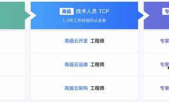 腾讯云认证体系TCA、TCP和TCE上线要不要来一个?